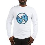 Pisces Astrology Sign Long Sleeve T-Shirt
