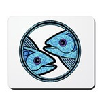 Pisces Astrology Sign Mousepad