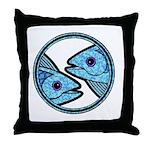 Pisces Astrology Sign Throw Pillow