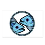 Pisces Astrology Sign Postcards (Package of 8)