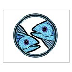 Pisces Astrology Sign Small Poster