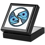 Pisces Astrology Sign Keepsake Box
