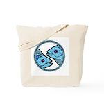 Pisces Astrology Sign Tote Bag