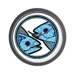 Pisces Astrology Sign Wall Clock