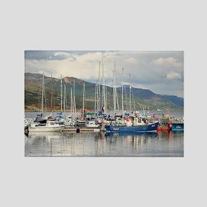 Boats at Kyleakin, Isle of Skye, Scotland Magnets