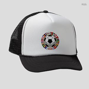 Soccer 2018 Kids Trucker hat