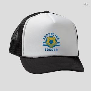 Argentina Soccer Kids Trucker hat