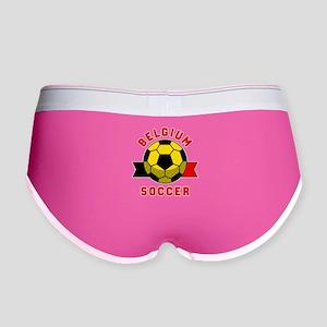 Belgium Soccer Women's Boy Brief