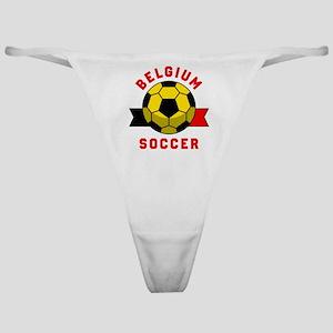 Belgium Soccer Classic Thong
