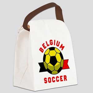 Belgium Soccer Canvas Lunch Bag