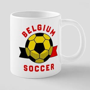 Belgium Soccer Mugs