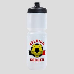 Belgium Soccer Sports Bottle