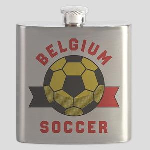 Belgium Soccer Flask