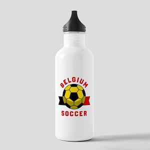 Belgium Soccer Water Bottle