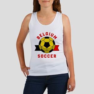 Belgium Soccer Tank Top