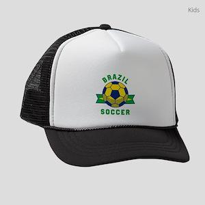 Brazil Soccer Kids Trucker hat