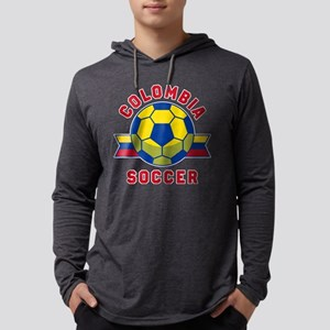 Colombia Soccer Long Sleeve T-Shirt