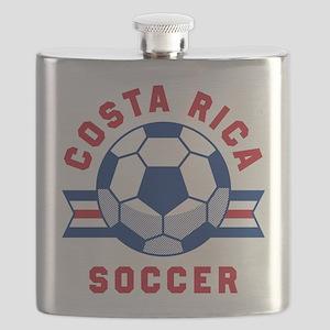 Costa Rica Soccer Flask