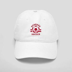 Denmark Soccer Baseball Cap