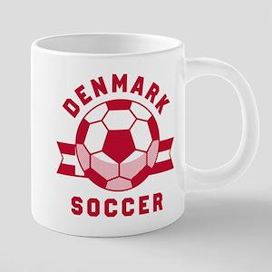 Denmark Soccer Mugs