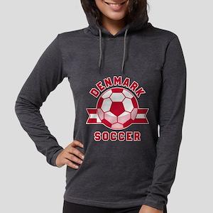 Denmark Soccer Long Sleeve T-Shirt