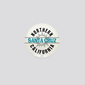 Santa Cruz California Mini Button