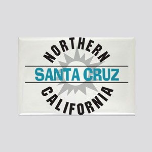 Santa Cruz California Rectangle Magnet