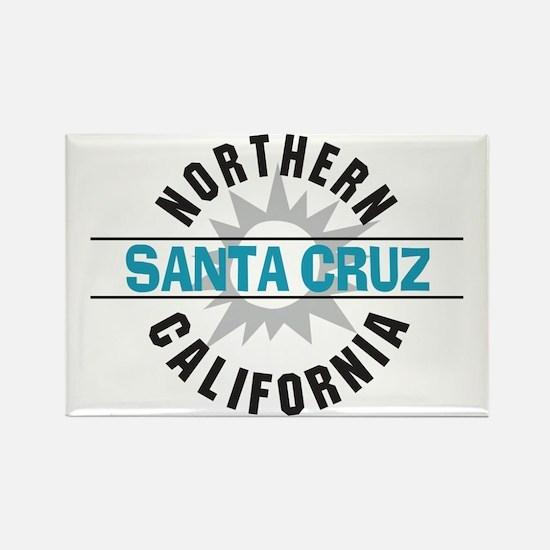 Santa Cruz California Rectangle Magnet