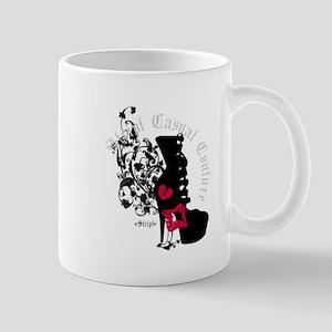 Couture Shoe Silhouette Mug