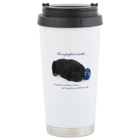 Perfect World (Lab) Stainless Steel Travel Mug