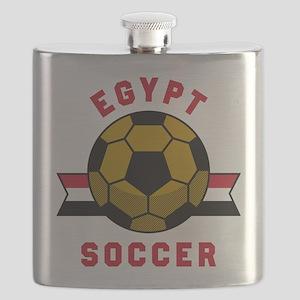 Egypt Soccer Flask