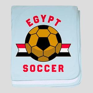 Egypt Soccer baby blanket