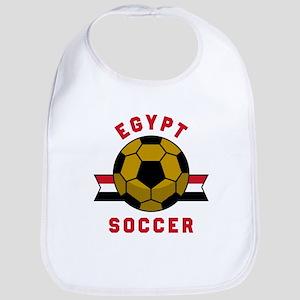 Egypt Soccer Baby Bib