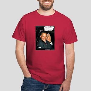 """""""Hey, America!"""" Dark T-Shirt"""