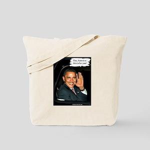 """""""Hey, America!"""" Tote Bag"""