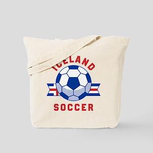 Iceland Soccer Tote Bag
