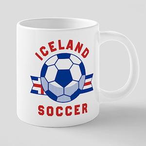 Iceland Soccer Mugs