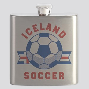 Iceland Soccer Flask