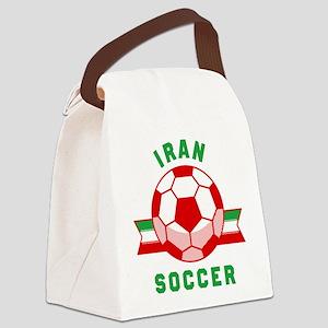 Iran Soccer Canvas Lunch Bag