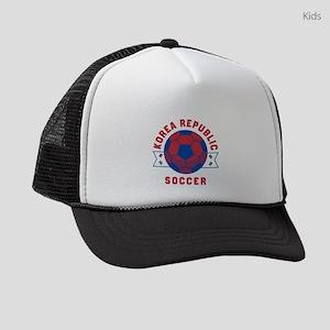 South Korea Soccer Kids Trucker hat