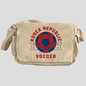 South Korea Soccer Messenger Bag