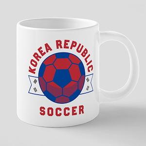 South Korea Soccer Mugs