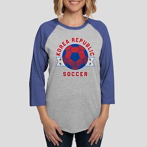 South Korea Soccer Long Sleeve T-Shirt