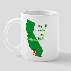 California Earthquake Mug
