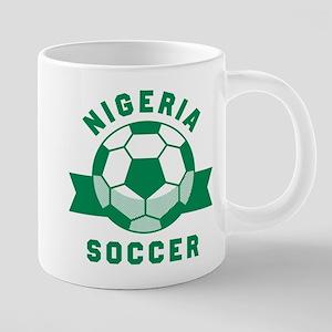 Nigeria Soccer Mugs