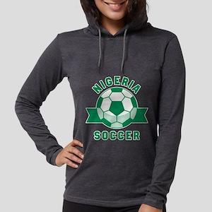 Nigeria Soccer Long Sleeve T-Shirt