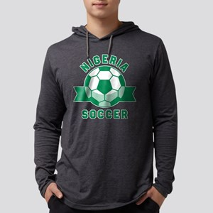 Nigeria Soccer Long Sleeve T-Shirt