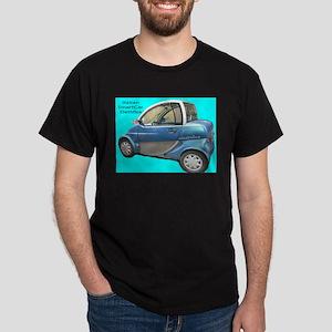 Italian Smart Car Dark T-Shirt