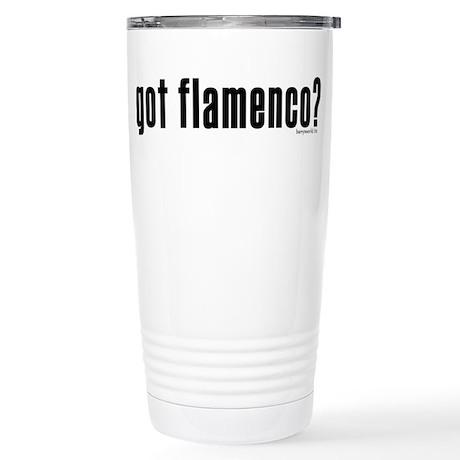got flamenco? Stainless Steel Travel Mug