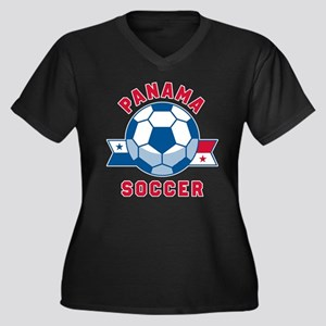 Panama Soccer Plus Size T-Shirt